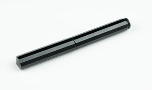 XS Minimalist Pocket Fountain Pen - Black Aluminum