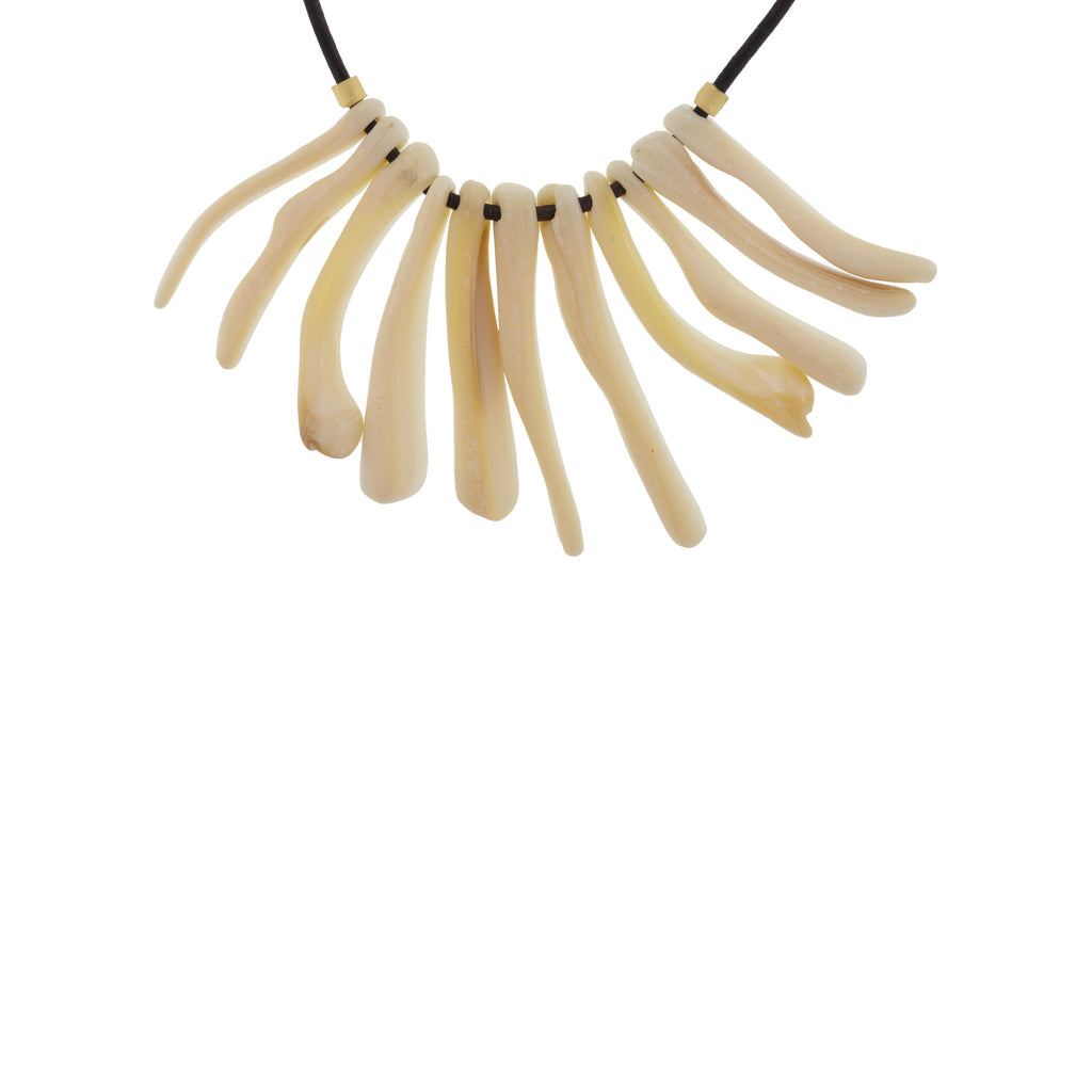 Tapered Shell Necklace