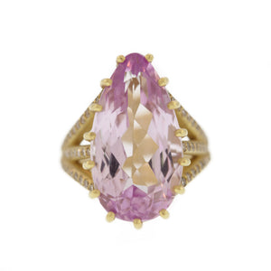 The Kunzite Ring