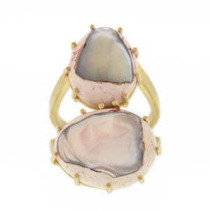 The Double Matrix Opal Ring