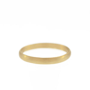 The Twentieth Century Band in Yellow Gold, 3mm