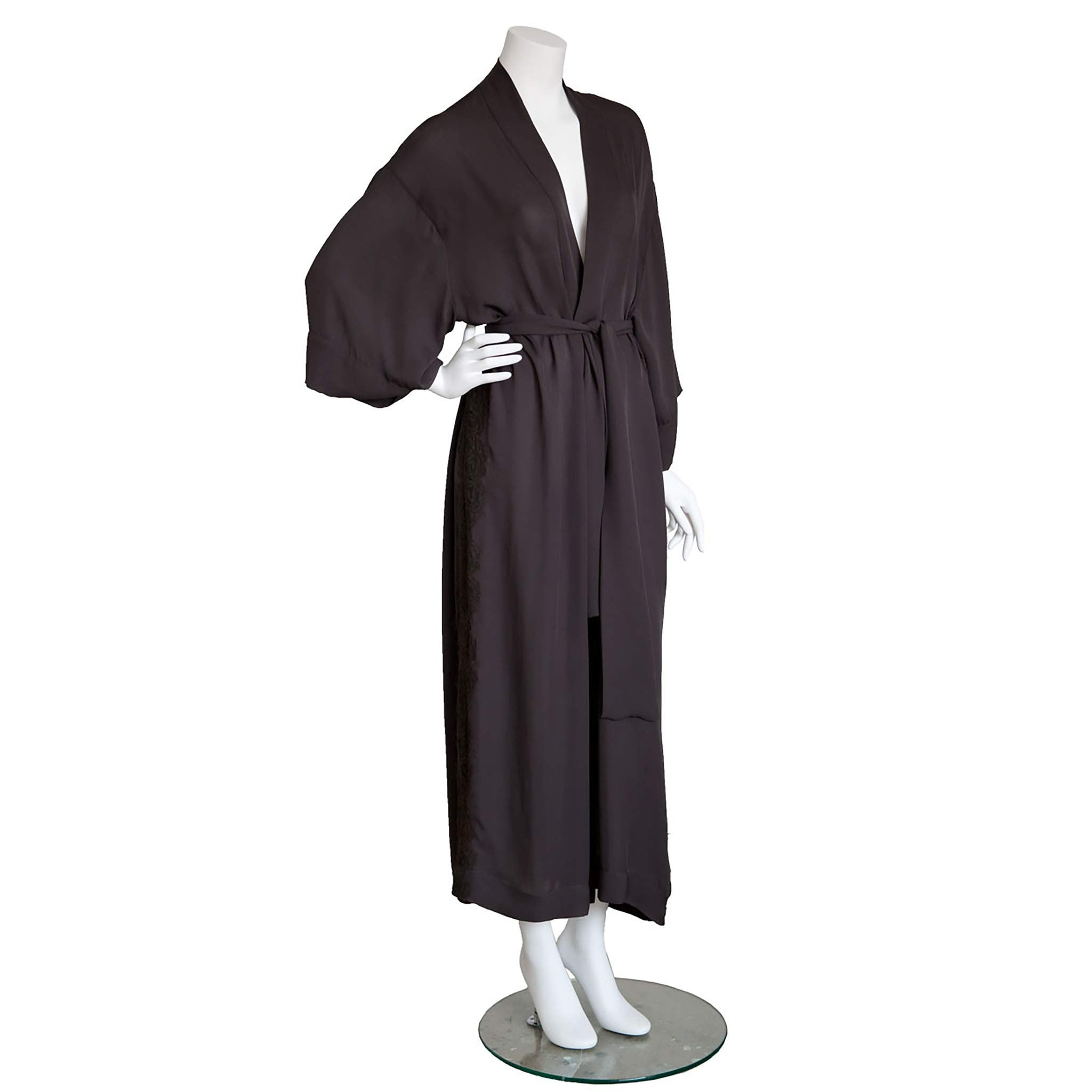Asteria Dressing Gown in Diamond Slice Double Georgette
