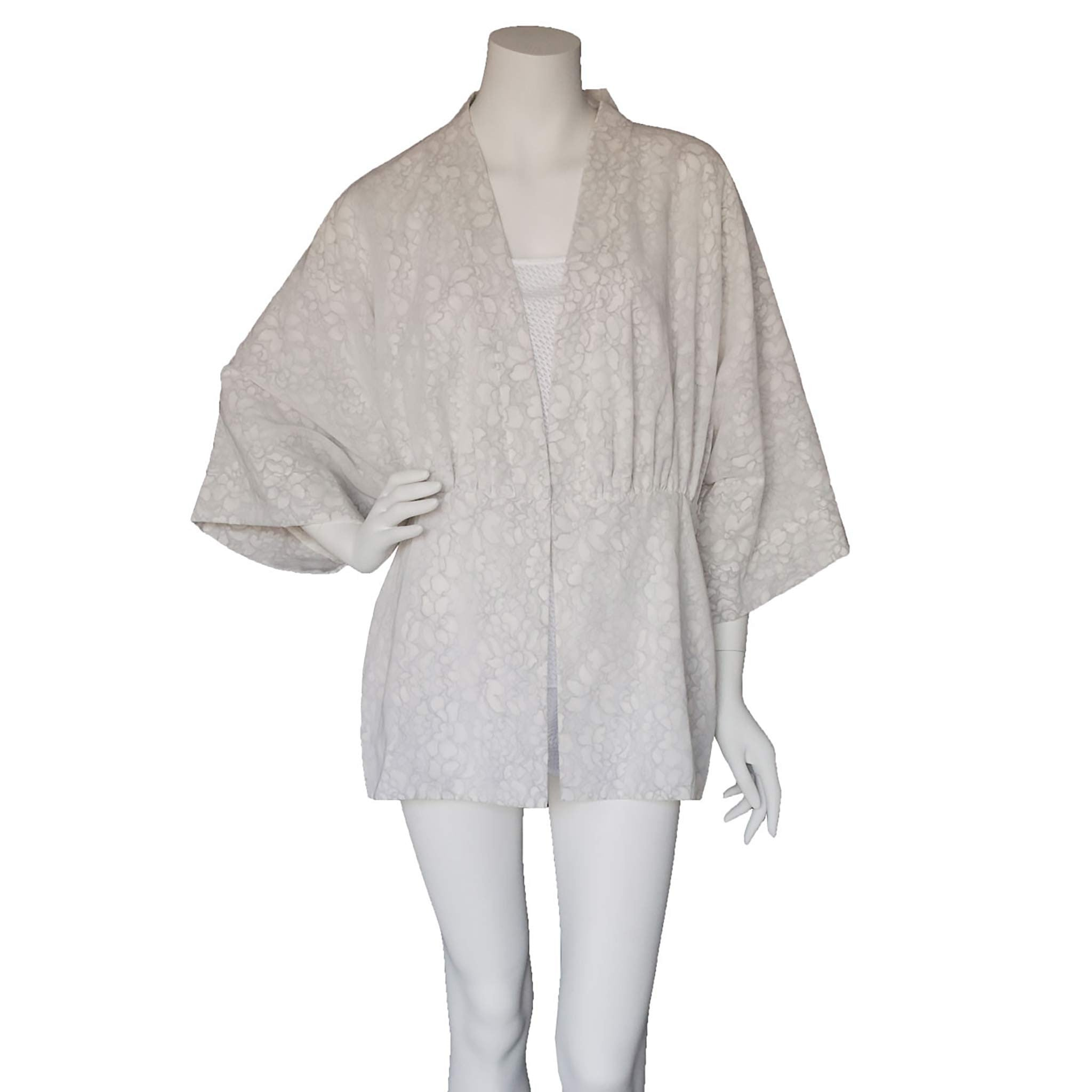 Charis Swiss Voile French Lace Bed Jacket