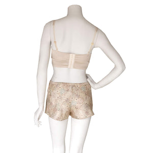 Sita Knickers in Dulwich Park Liberty Print Silk Satin