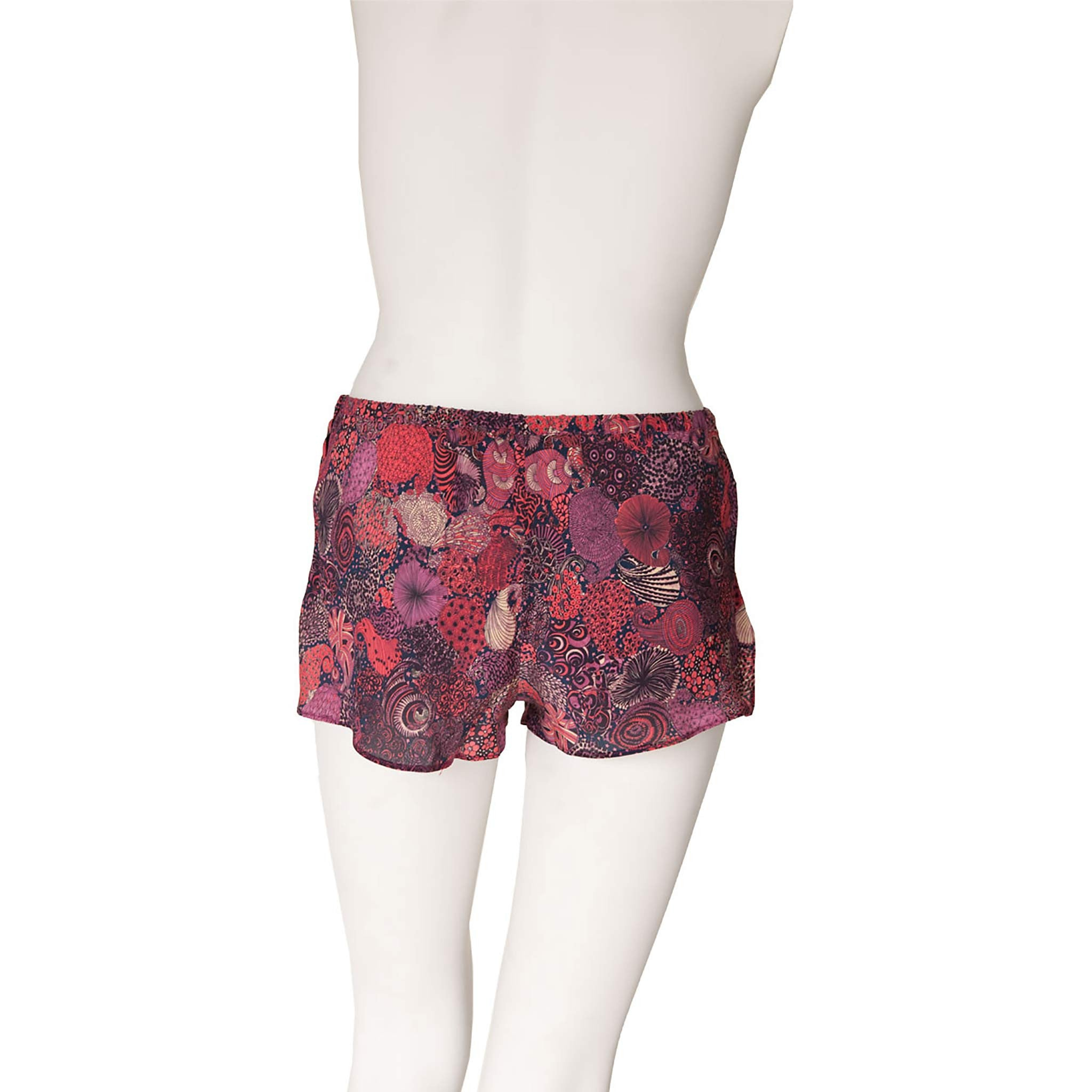 Sita Knickers in Midnight Liberty Print Silk Crepe de Chine
