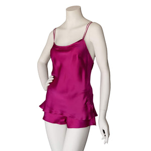 Sita Knickers in Rubellite Silk Charmeuse- FINAL SALE
