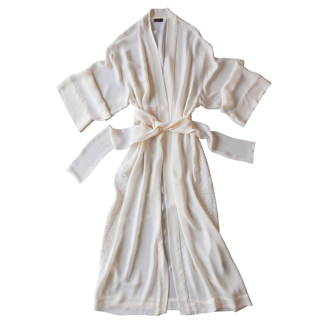 57729f5901 ... Asteria Kimono Robe in Pearl Silk Double Georgette