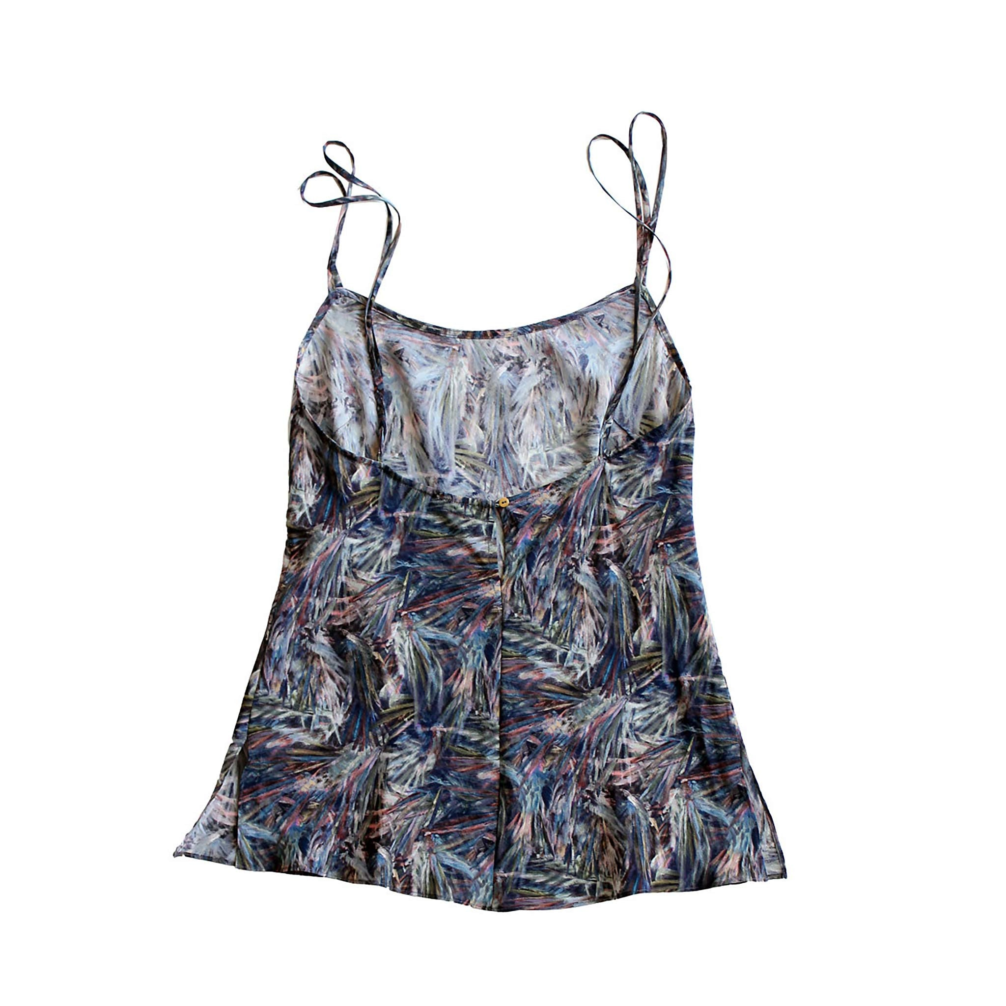 Olwen Camisole in Saxby Liberty Print Silk Crepe de Chine