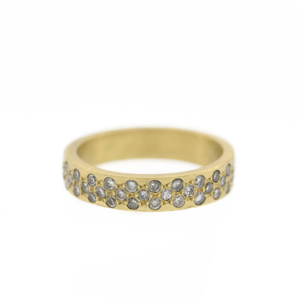 The Diamond Lace Ring