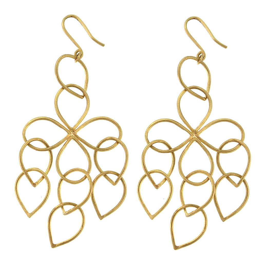 The Pear Loop Cluster Earring