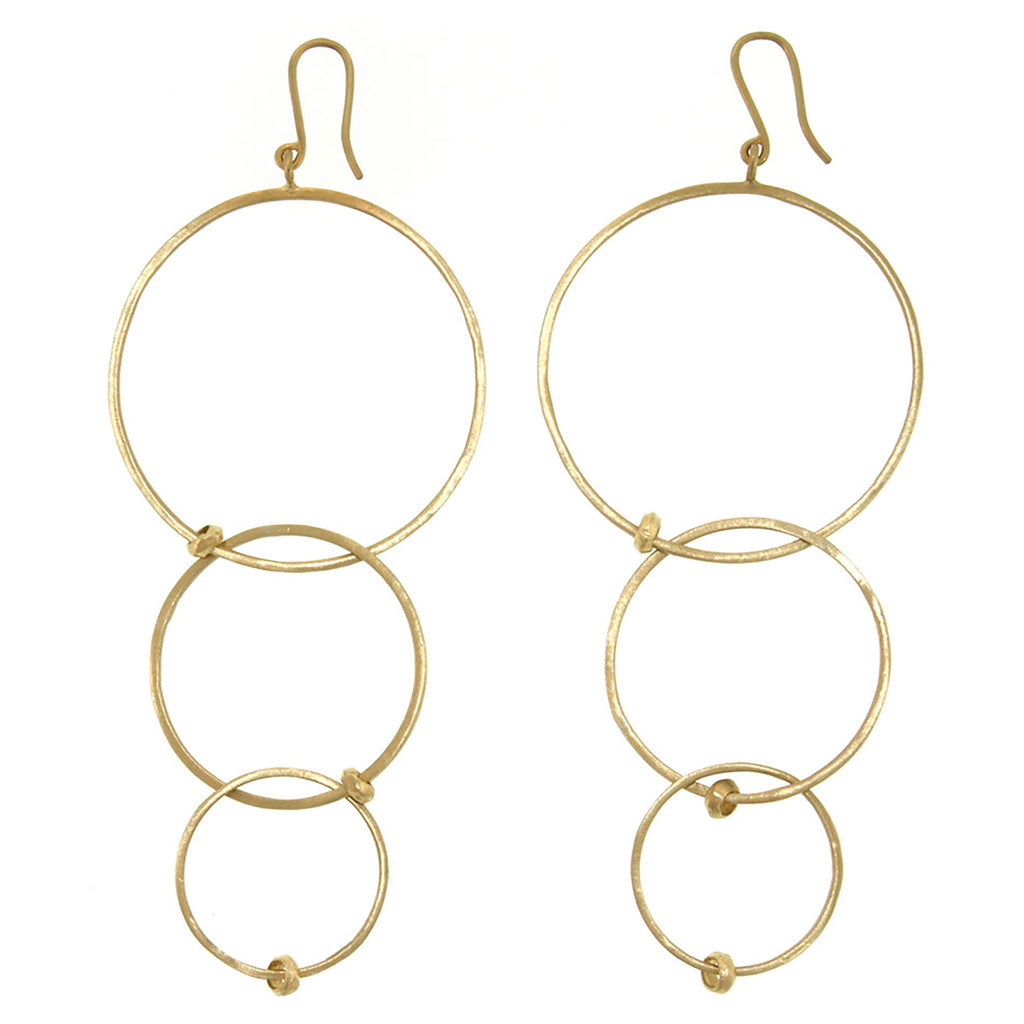 Triple Loop Earring