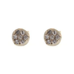 The Mini Diamond Disc Stud