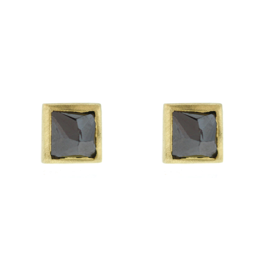 The Inverted Black Diamond Stud