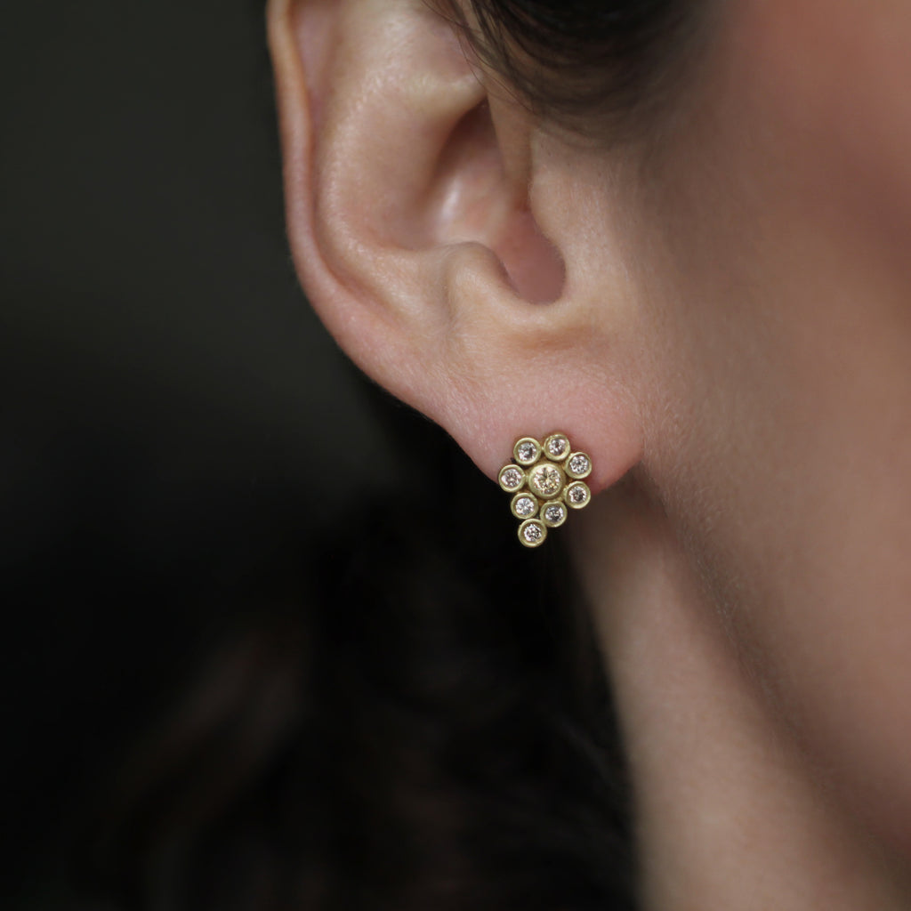 The Diamond Paisley Stud