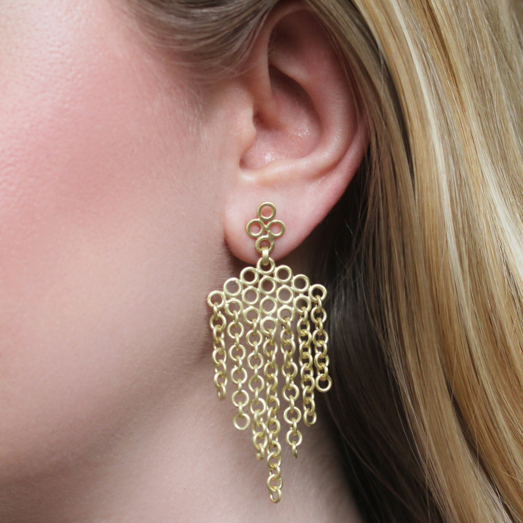 The Loop Fringe Earring