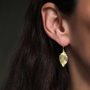 The Small Holly Leaf Dangle Earring