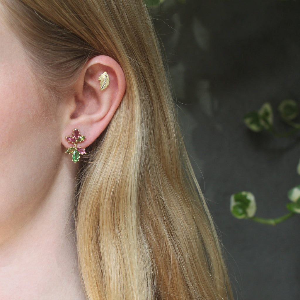 The Bright Tourmaline Drop Earring