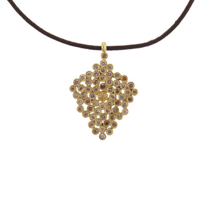 A Diamond Honeycomb Pendant