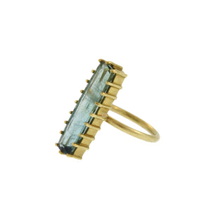 The Vertical Tourmaline Ring