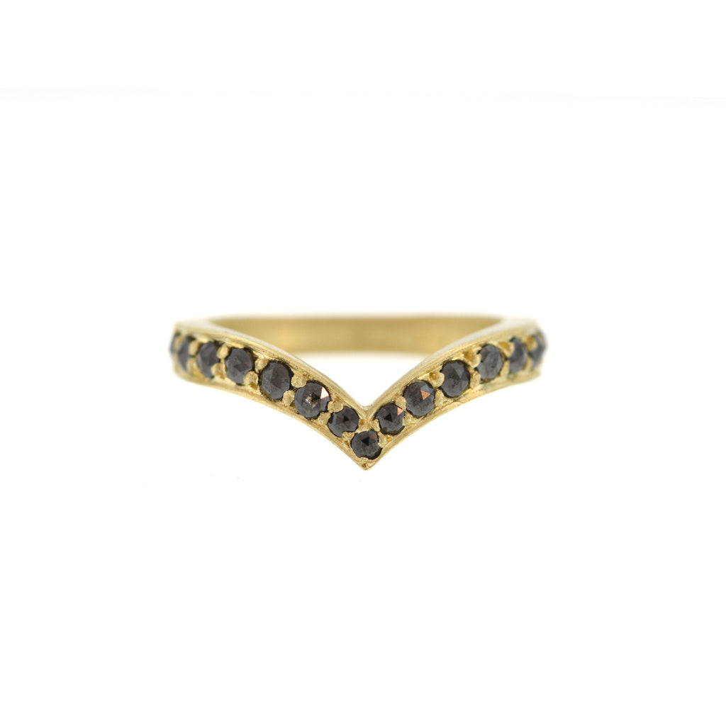 The Black Diamond Peregrine Ring