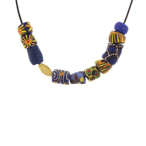 Vintage African Trade Bead Necklace