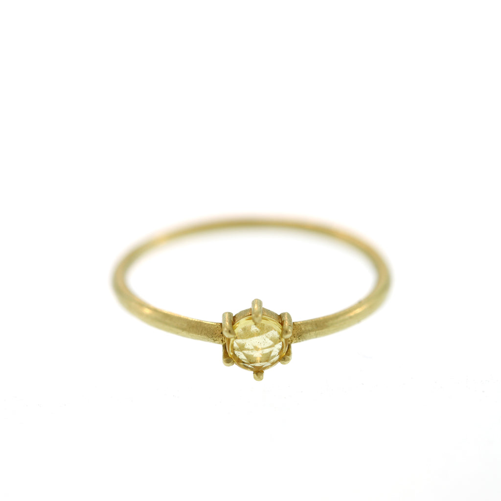 The Yellow Sapphire Ring