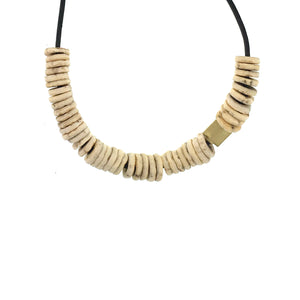 Shell Disc Necklace