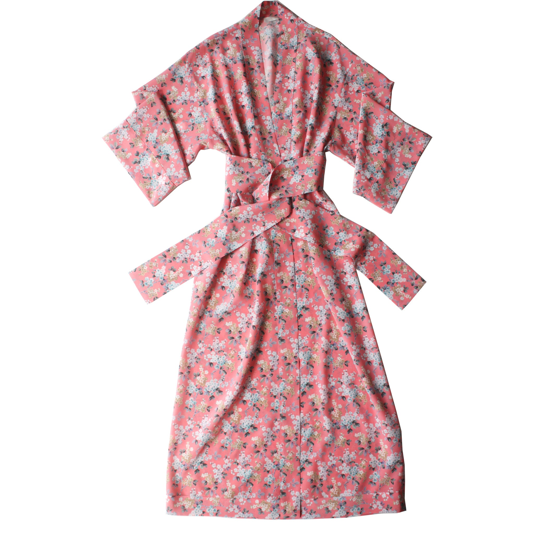 Asteria Kimono Robe in Liberty of London Josephine Silk Crepe De Chine