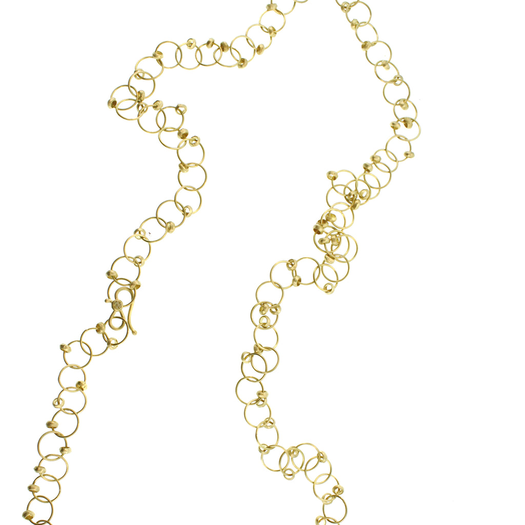 Long Loop Chain Necklace
