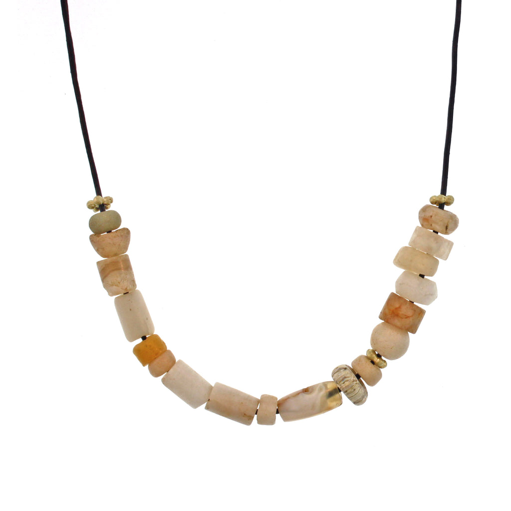 The Mali Quartz Bead Necklace