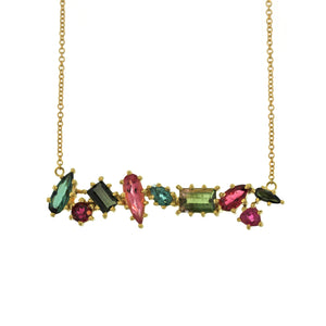 The Tourmaline Multi-Shaped Necklace