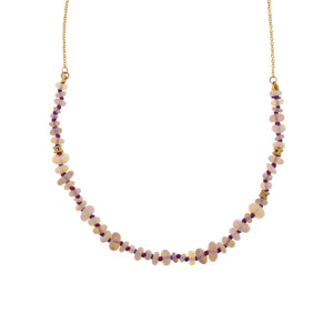 The Opal Bead Chain Necklace