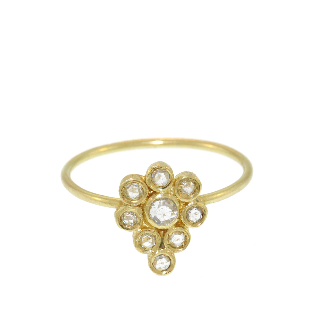 The Diamond Paisley Ring