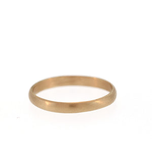 The Curved Edge Band in Rose Gold, For Men, 3mm