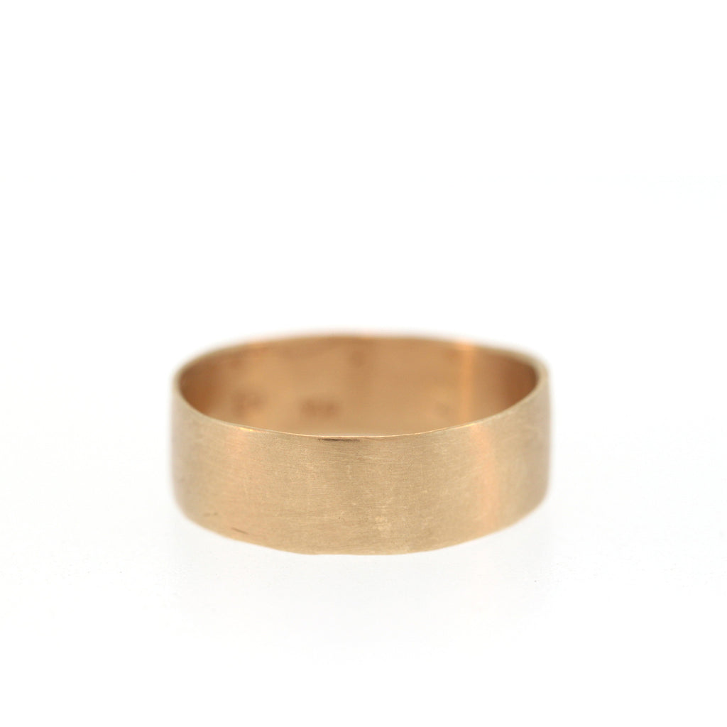 The Classic Band in Rose Gold, 6mm