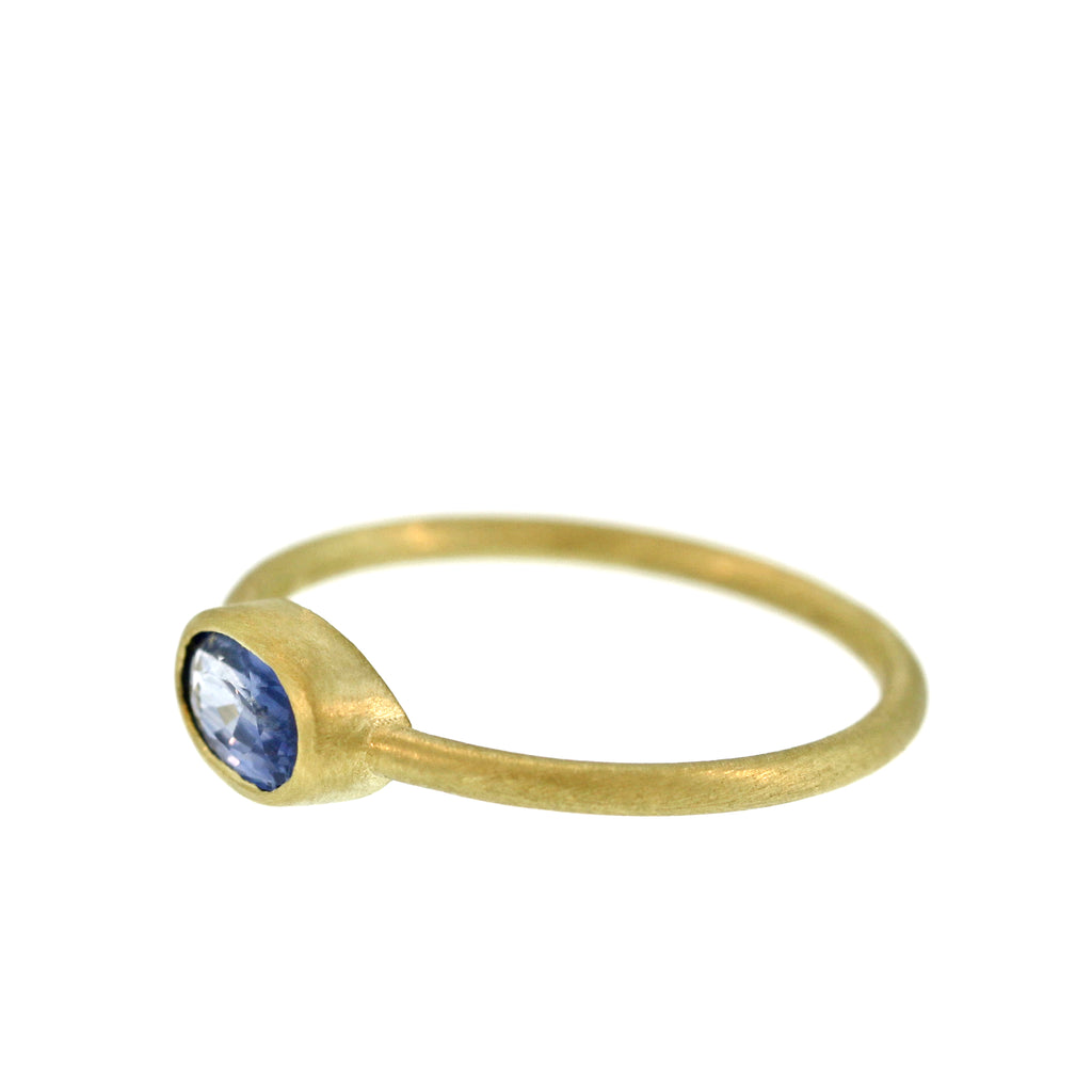 The Cornflower Blue Sapphire Ring