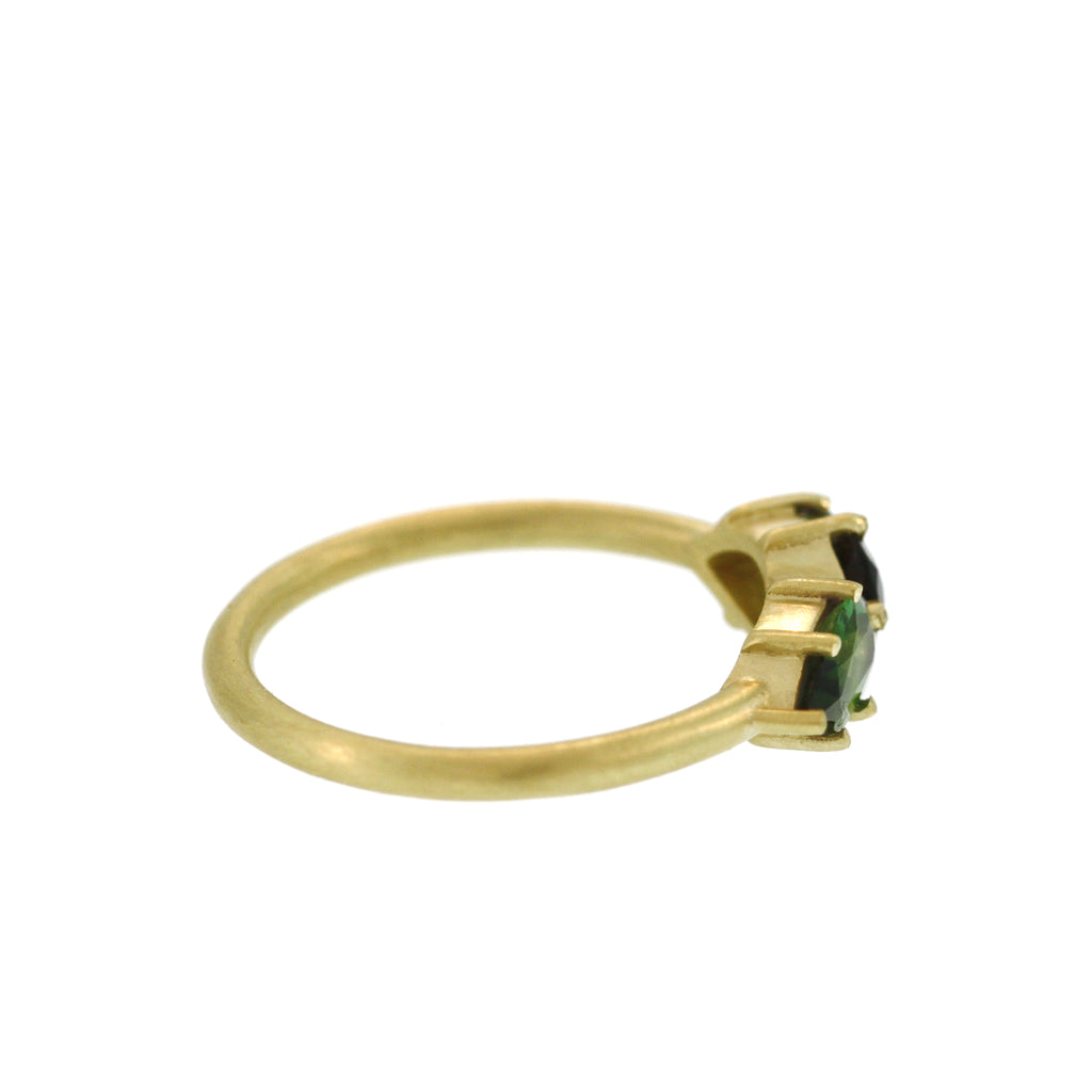 The Double Pear Shaped Tourmaline Ring