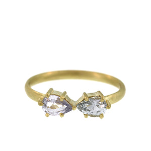 The Double Pastel Sapphire Ring