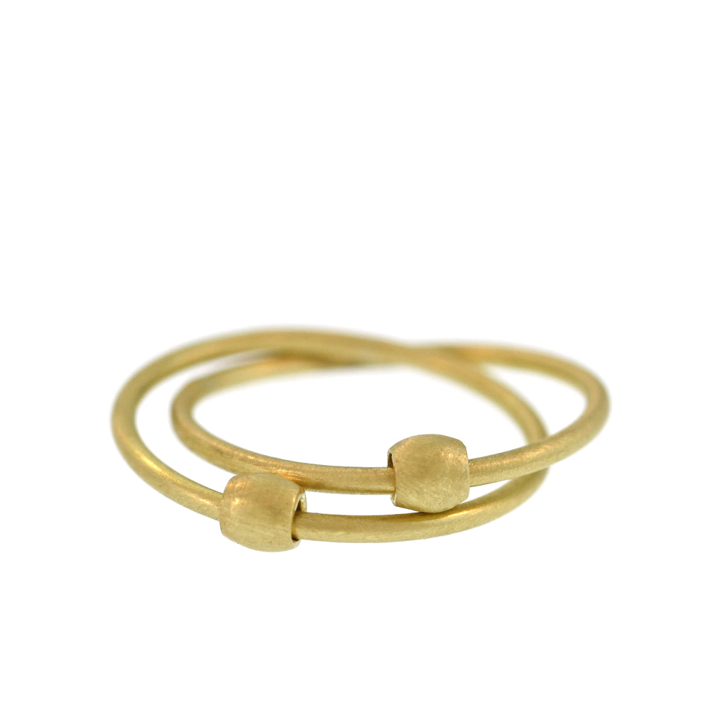 The Entwined Floating Bead Ring
