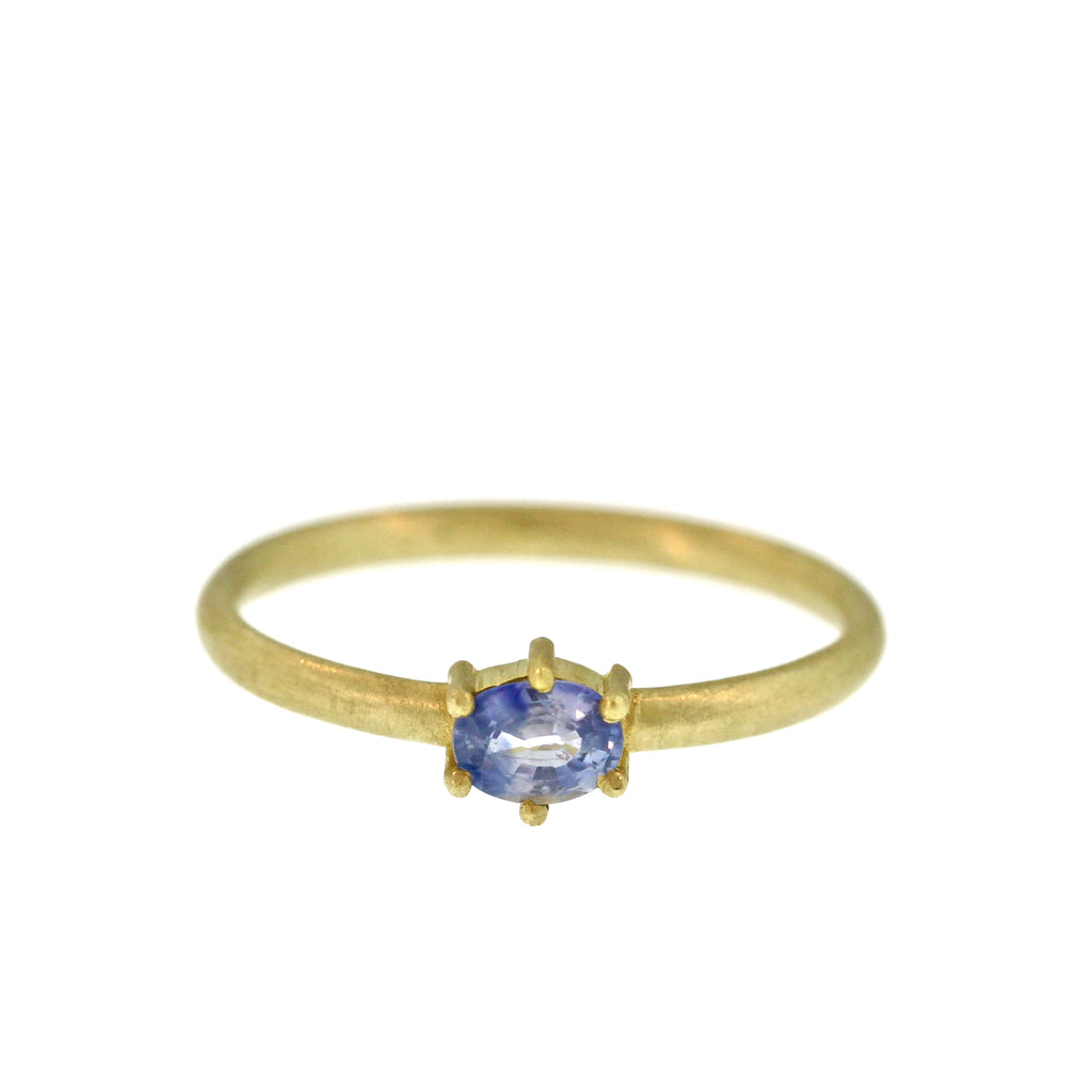 The Sky Blue Sapphire Ring