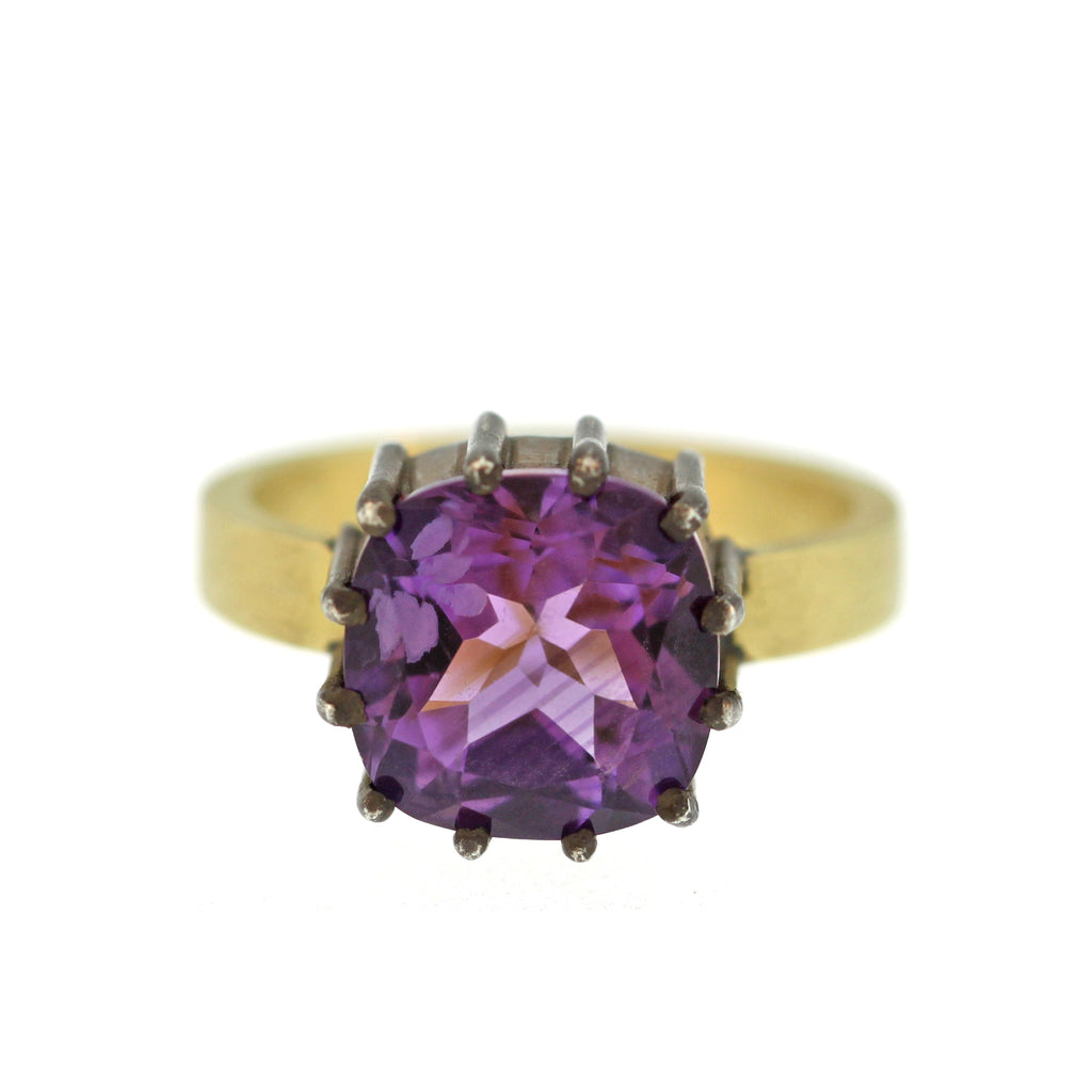 The Cushion Cut Amethyst Ring