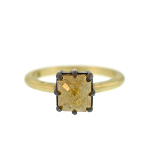 The Opaque Yellow Diamond Ring