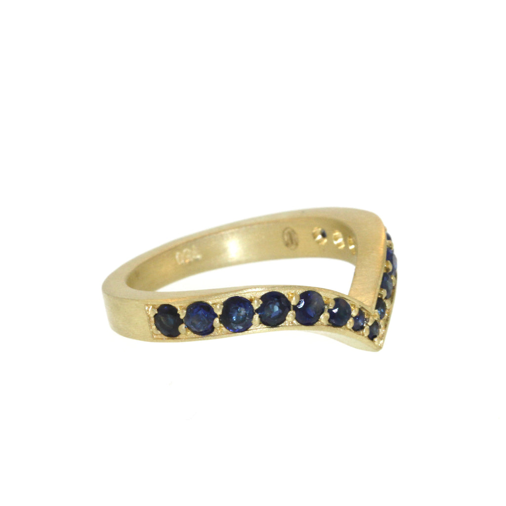 The Sapphire Peregrine Ring