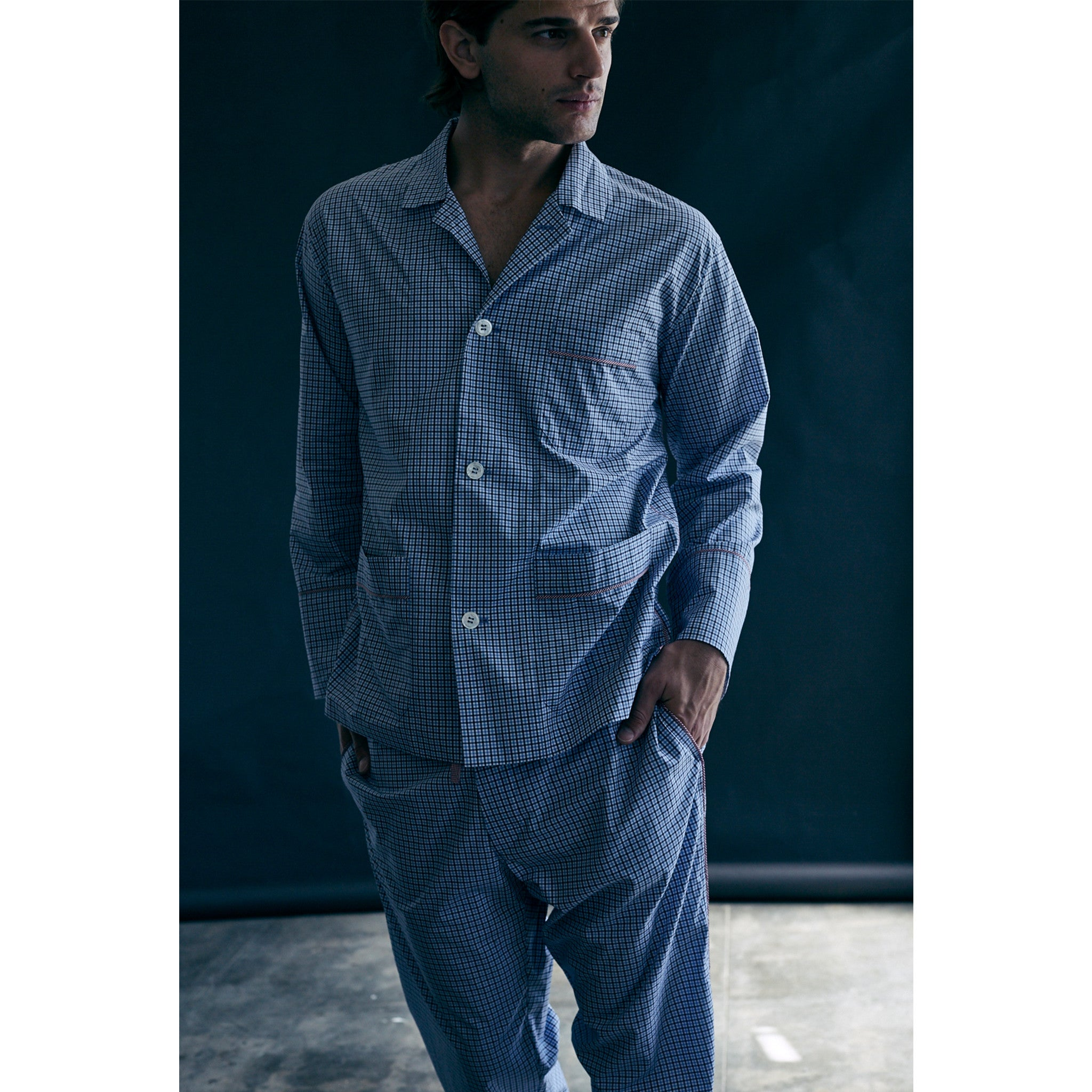 Hyperion Men's Pajama Shirt