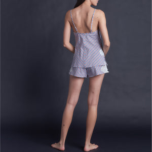 Olwen Camisole in Italian Cotton Stripe