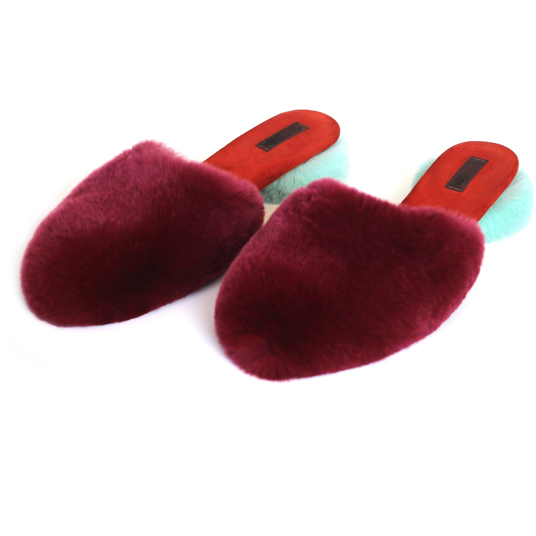 Fur Slippers in Create-Your-Own Custom Colors