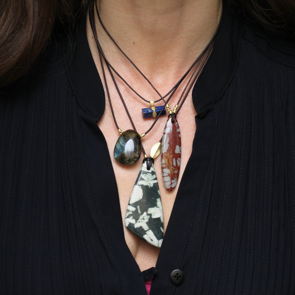 The Noreena Jasper Pendant