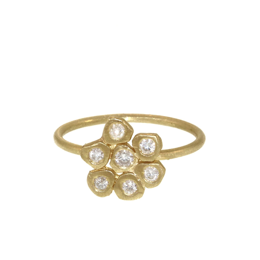 The Diamond Flower Ring