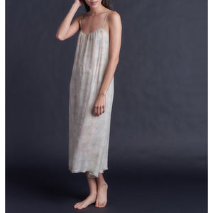 Thea Paneled Slip Dress in Liberty Silk Chiffon Dulwich Park