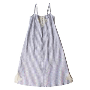 Thea Nightdress in Italian Striped Cotton